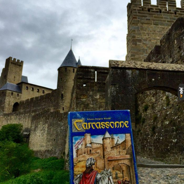Zamek z okładki