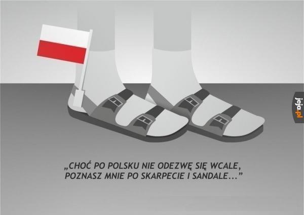 Wiersz o Polakach