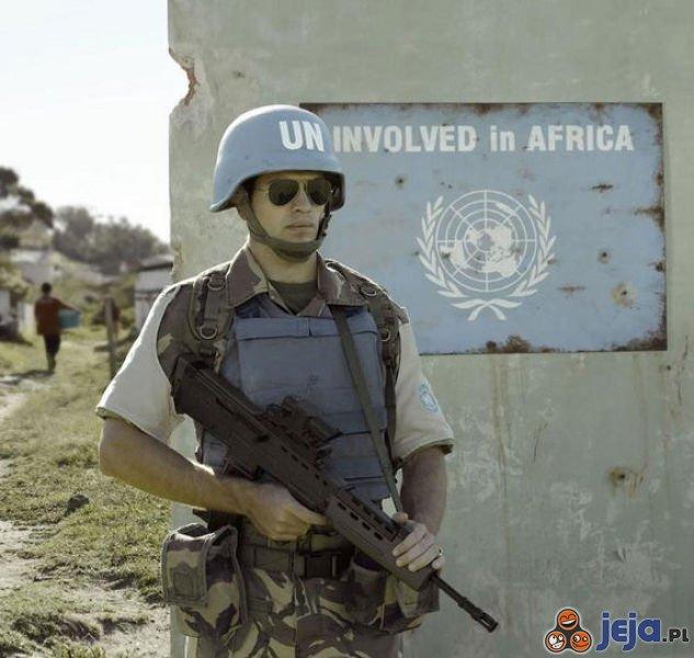 (Nie)zaangażowany w Afryce