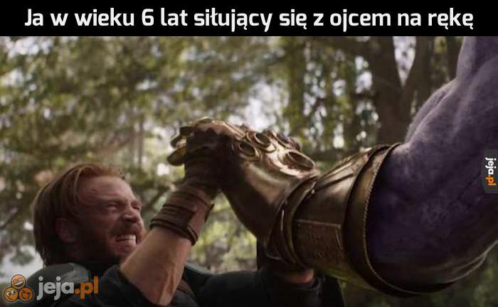Tym razem wygram, ojcze!