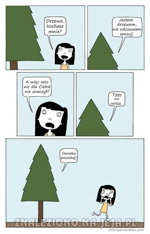 Nieczułe drzewo