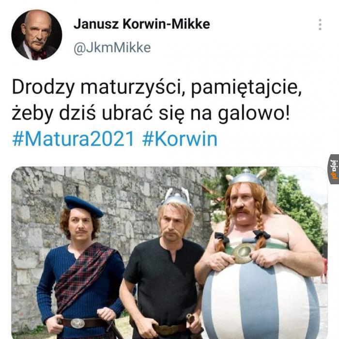 Pan Janusz dobrze radzi