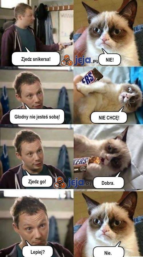 Zjedz Snickersa!