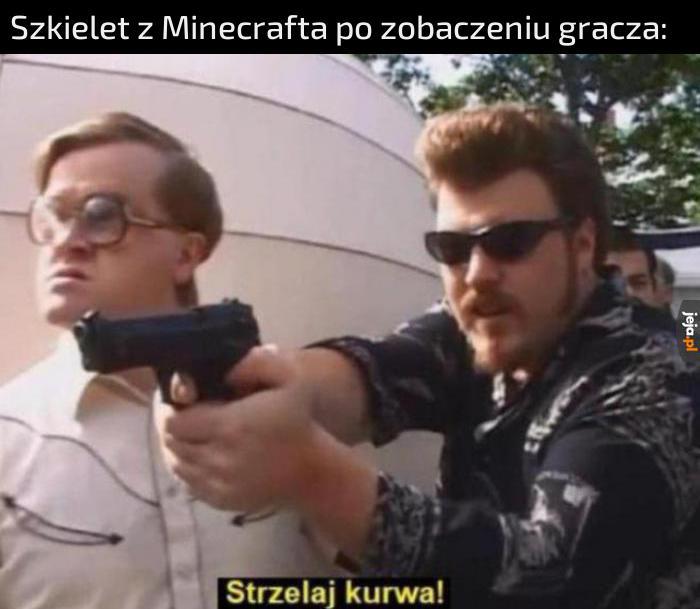 *strzał*