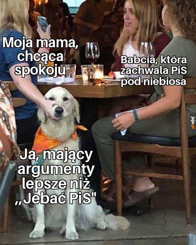 Mamo, babcia znowu pier...