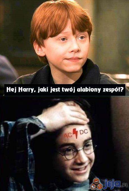 Harry to wierny rockman