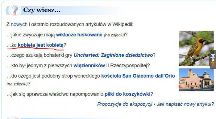 Wikipedia zawsze pomocna