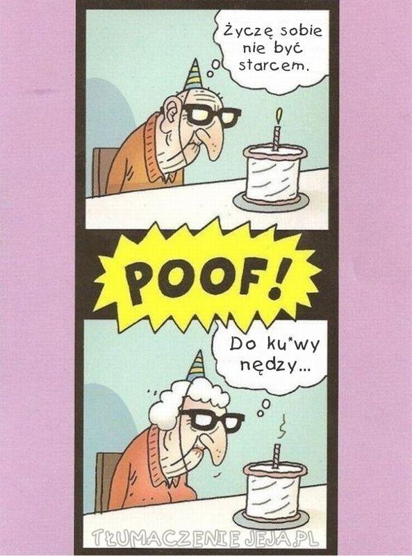 Życzenie staruszka