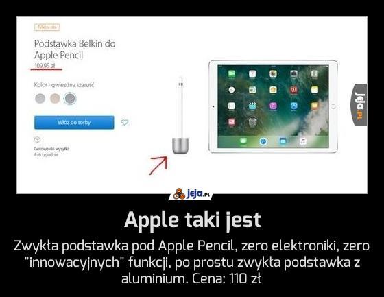 Apple taki jest
