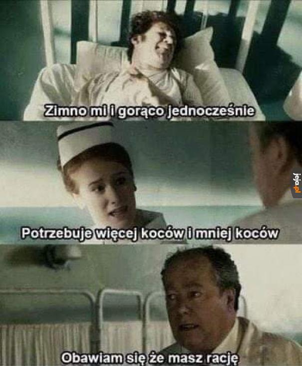 Czyli polska służba zdrowia w pigułce