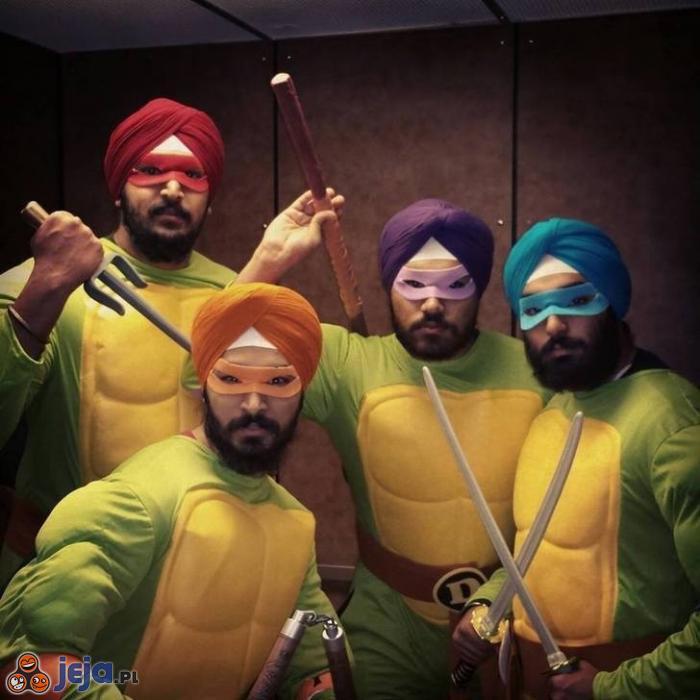 Arabskie Żółwie Ninja