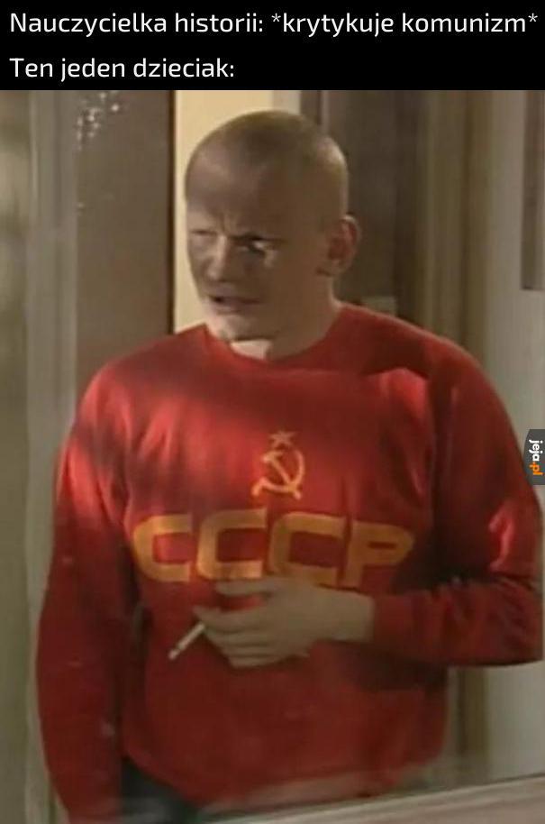 Ale psze pani, ZSRR to nie był prawdziwy komunizm