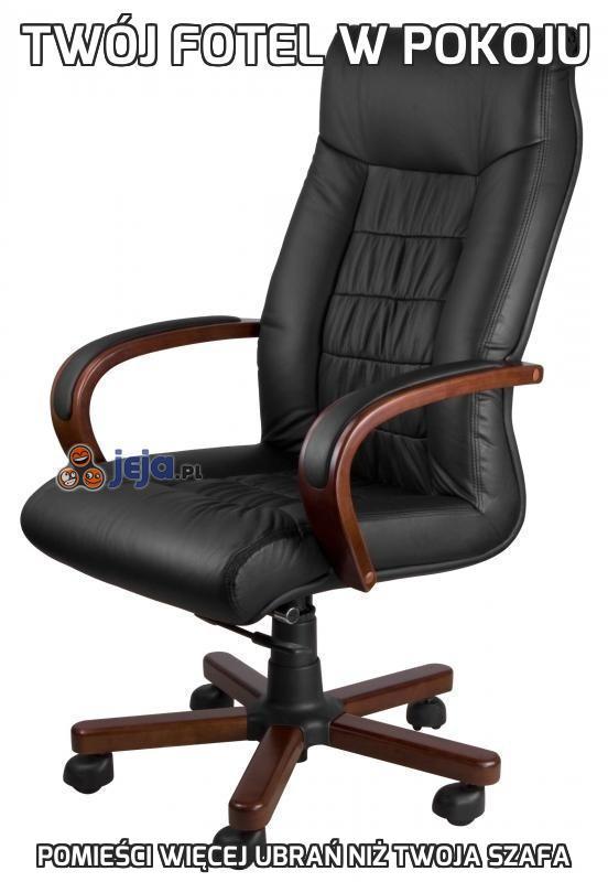 Twój fotel w pokoju