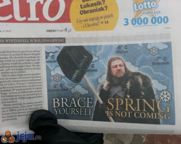 Wiosna nie nadchodzi