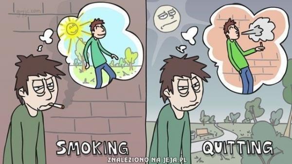 Palenie i rzucanie
