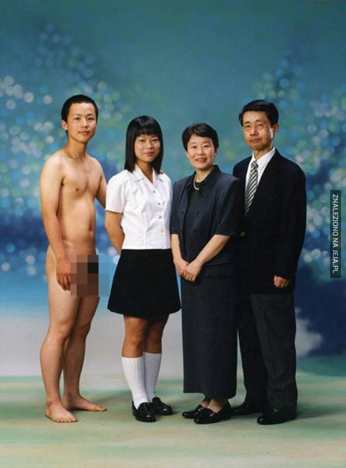 Dziwne rodzinne zdjęcie