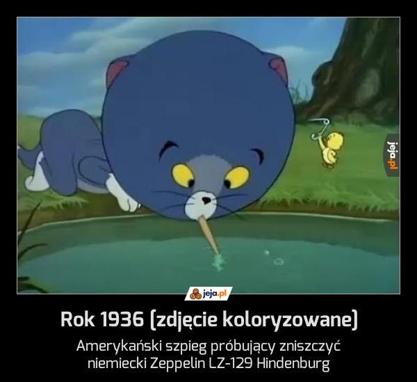 Rok 1936 [zdjęcie koloryzowane]