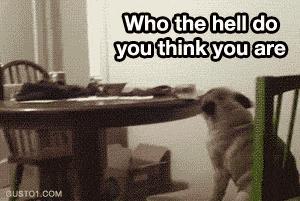 Gdy ktoś zwróci mi uwagę...
