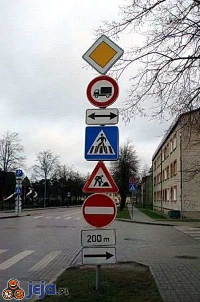 Znaki dla bystrzaków