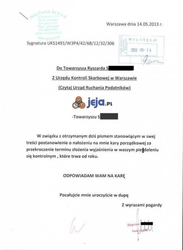 Oficjalne pismo