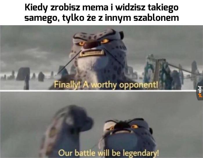 Zobaczymy, kto jest lepszy!