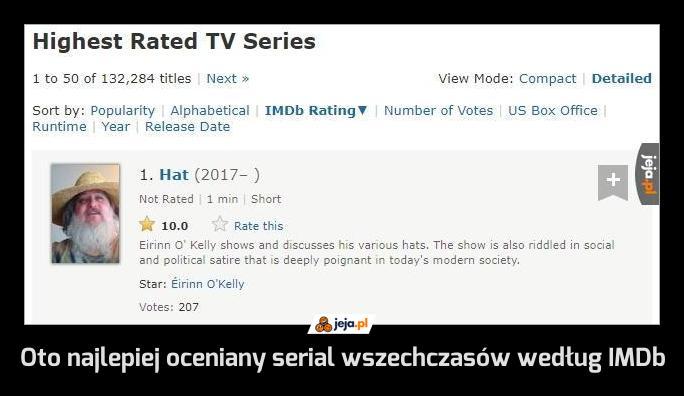 Oto najlepiej oceniany serial wszechczasów według IMDb