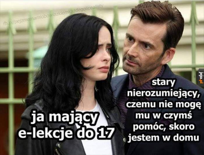 Nie mogę, mam teraz polski