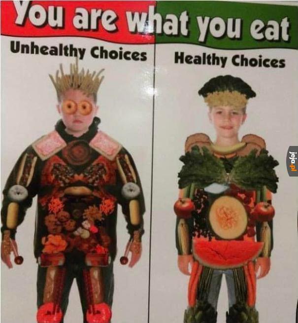 Jesteś tym, co jesz