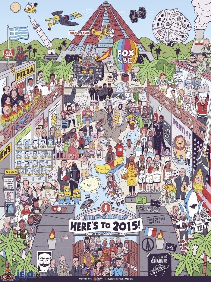2015 w jednym obrazku