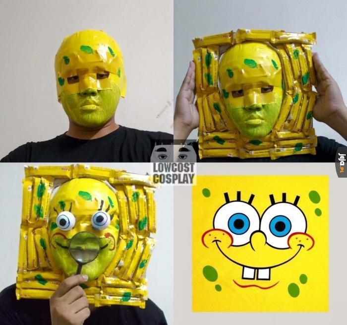 Cosplay SpongeBoba