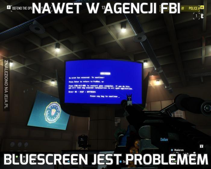Nawet w agencji FBI