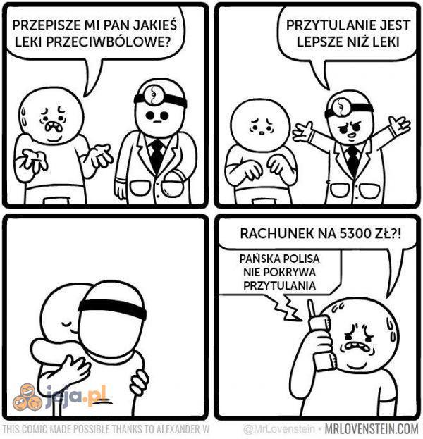Coś przeciwbólowego