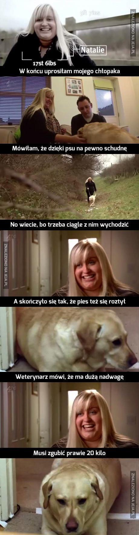 Zrobiła psu krzywdę i zadowolona...