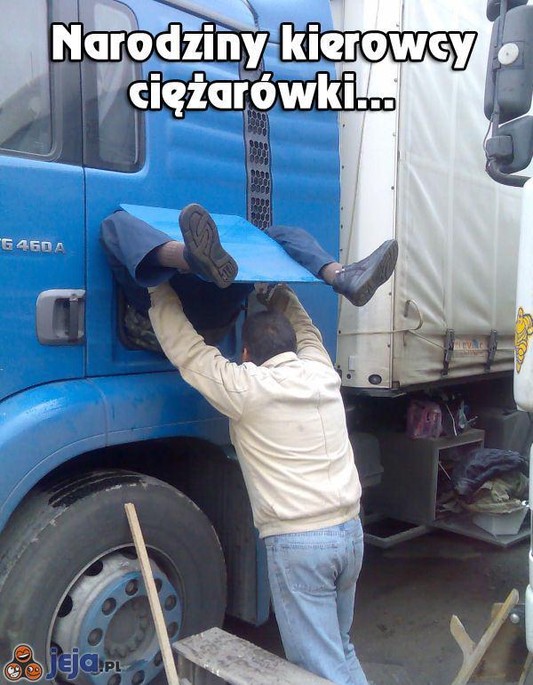 Skąd się biorą kierowcy ciężarówek