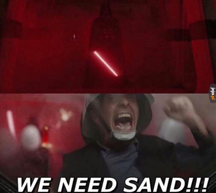 Dawać piasek!