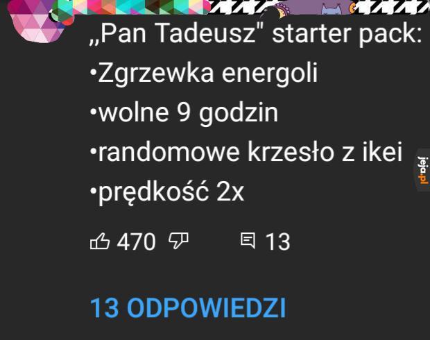 Typowa polska lektura
