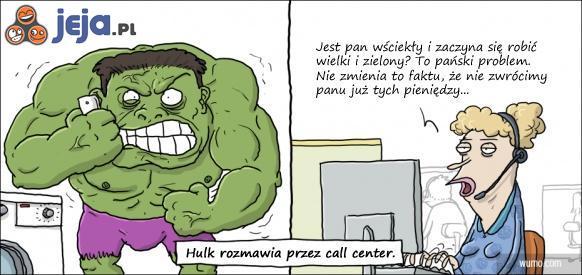 Hulk dzwoni na infolinię