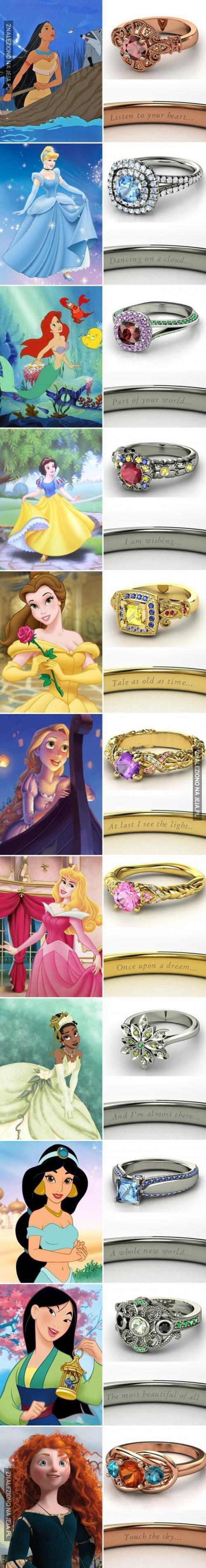 Pierścionki dla prawdziwych księżniczek