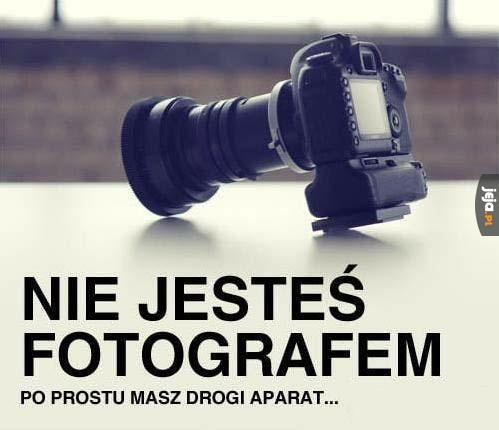 Kup aparat za 900 zł i jesteś fotografem