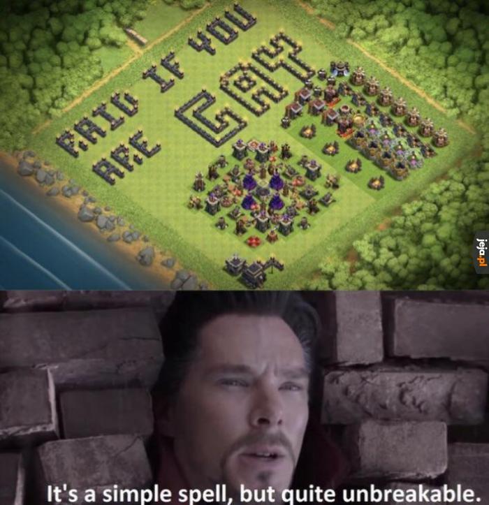 Teraz już nikt nie tknie jego wioski