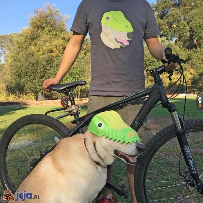 Tajne zdjęcia dinozaura w parku Reagana