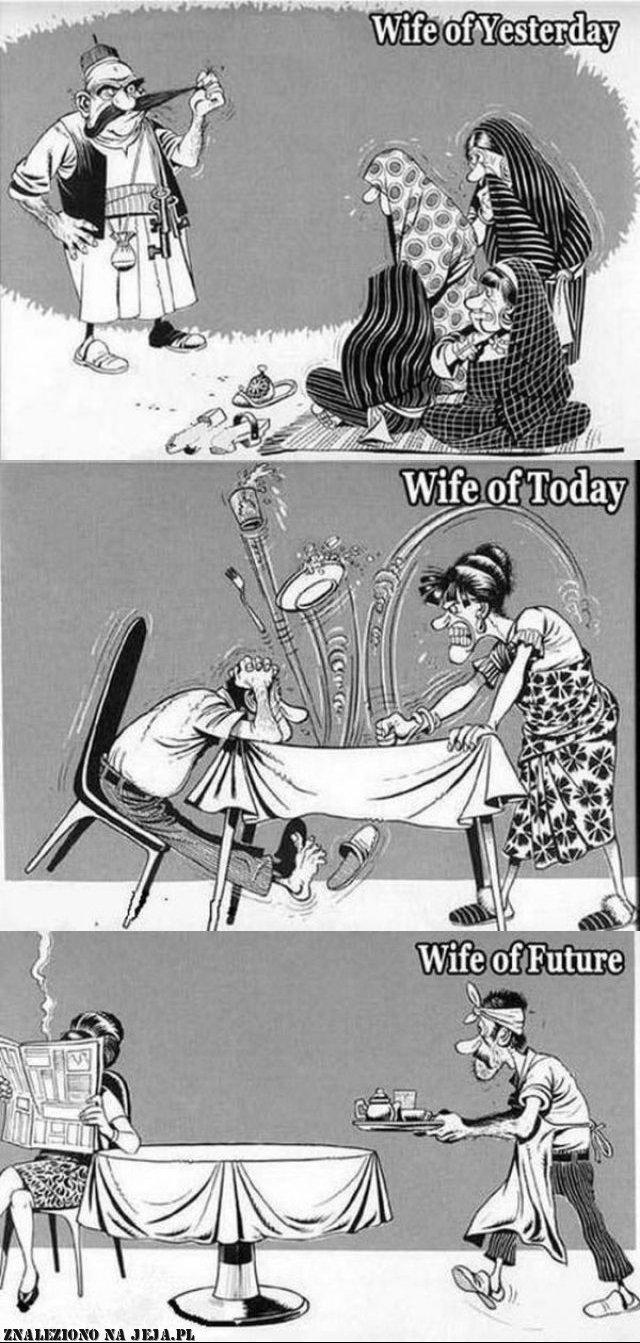 Ewolucja żony
