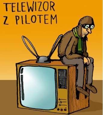 Telewizor z Pilotem