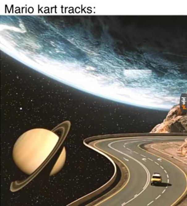 Trasy w Mario Kart
