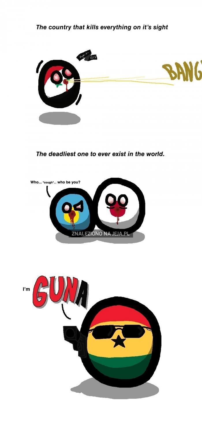 GUNA zabija!