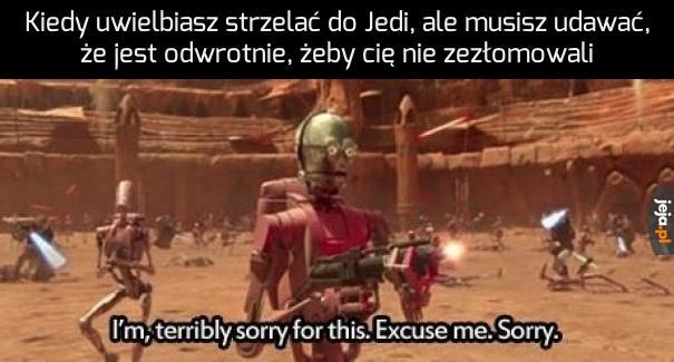 Oh, jak mi przykro...