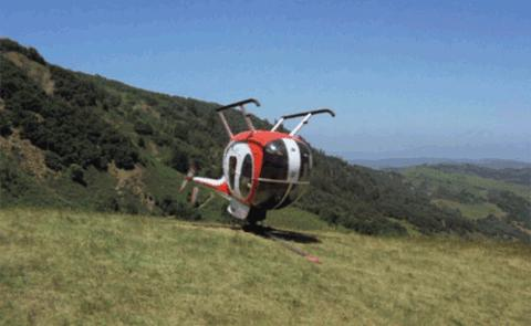 Helikopter na opak