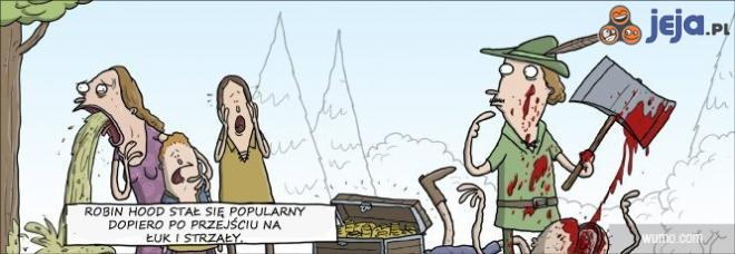 Popularność Robin Hooda