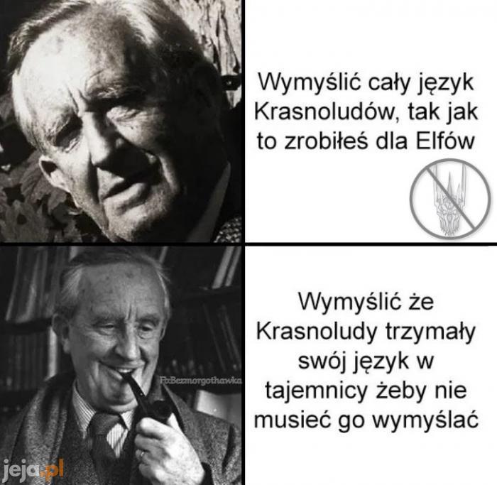 Tolkien spryciarz