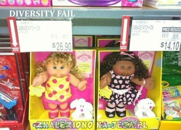 Przecena lalki